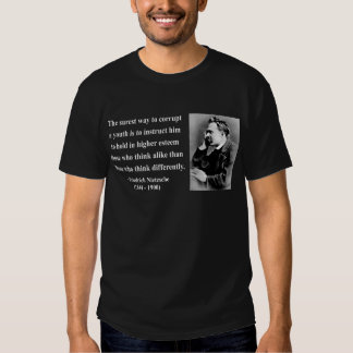 Cita 2b de Nietzsche Camiseta