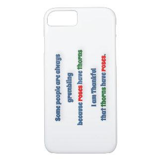 Cita agradecida - alguna gente es siempre funda iPhone 7