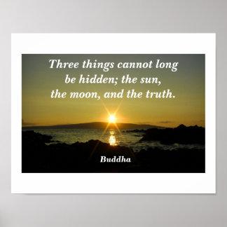 Cita de Buda Poster