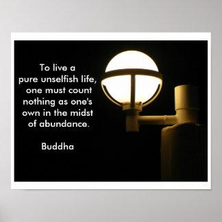 Cita de Buda - poster