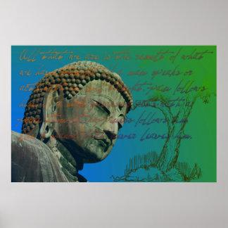 Cita de Buda Posters