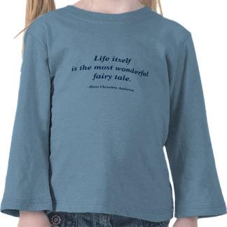 Cita de Hans Christian Andersen Camisetas