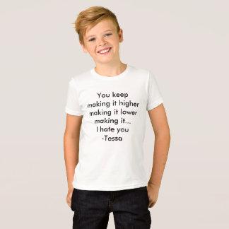 Cita de la camisa de Tessa
