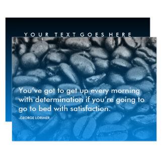 cita de la determinación de Lorimer Invitación 8,9 X 12,7 Cm