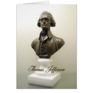 Cita de la libertad de Thomas Jefferson Tarjeta De Felicitación