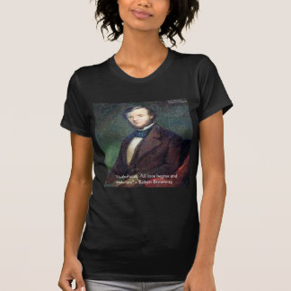 Cita de la maternidad de Robert Browning Camisetas