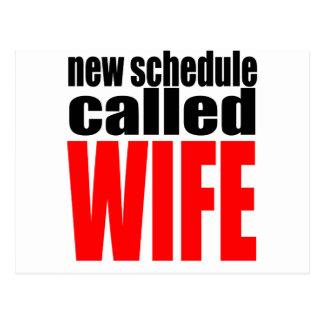 cita de la realidad del recién casado del horario postal