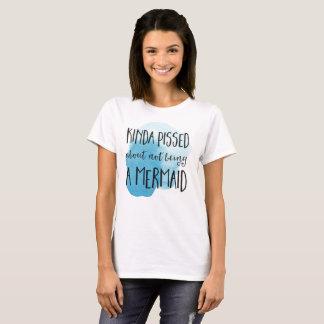Cita de la tipografía de la sirena camiseta