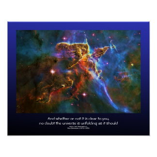 Cita de los desiderátums - nube del gas de la póster