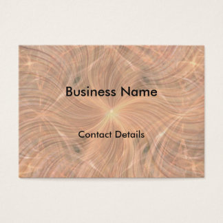 Cita de lujo del diseño tarjeta de negocios