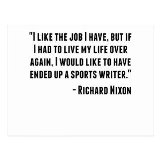 Cita de Richard Nixon Postal