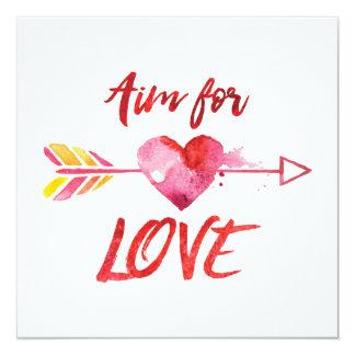Cita del amor - tarjeta del día de San Valentín