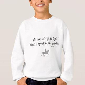 Cita del caballo de Churchill Sudadera