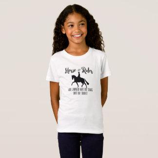 Cita del caballo y del jinete del Dressage Camiseta