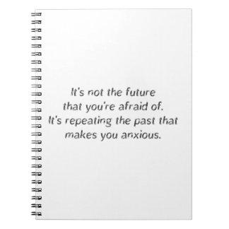 Cita del futuro y del pasado cuaderno