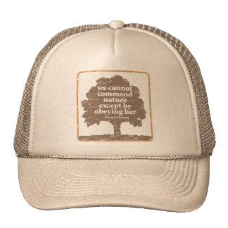 Cita del tocino sobre la naturaleza gorra