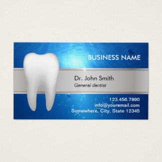 Cita dental profesional tarjeta de negocios
