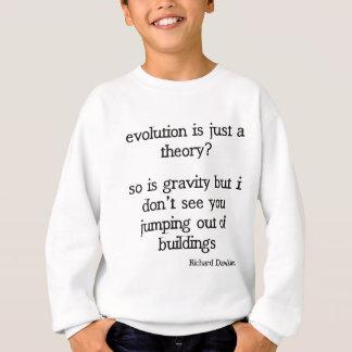 Cita divertida de la evolución de Richard Dawkins Sudadera