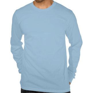 Cita divertida de la nadada - blusa de manga larga camiseta