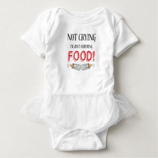 Cita divertida no gritadora del bebé body para bebé