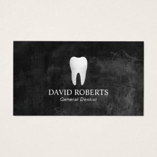 Cita elegante del dentista de la pizarra del tarjeta de negocios
