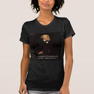 Cita famosa de la maternidad de Robert Browning Camisetas