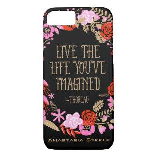 Cita imaginada vida viva personalizada de la funda iPhone 7