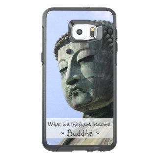 Cita inspirada de Buda Funda OtterBox Para Samsung Galaxy S6 Edge Plus