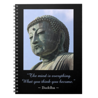 Cita inspirada de la foto de Buda Cuaderno