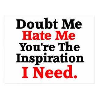 Cita inspirada de la motivación
