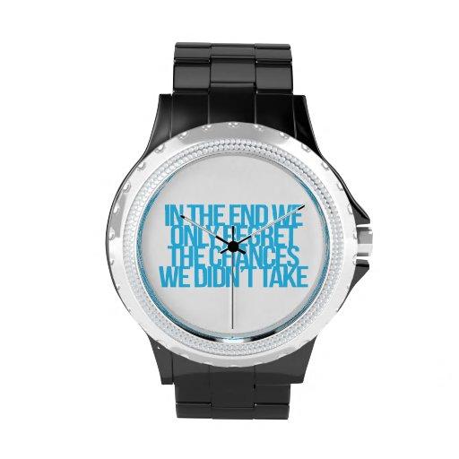 Cita inspirada y de motivación relojes