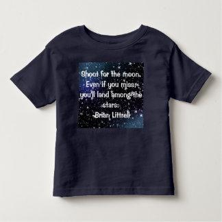 Cita inspiradora y linda para la camiseta de los