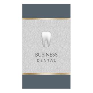 Cita profesional del cuidado dental tarjetas de visita