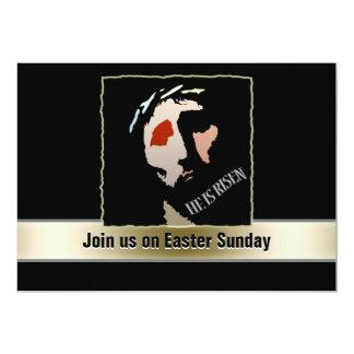 Cita religiosa del verso de la biblia de Pascua Invitación 12,7 X 17,8 Cm