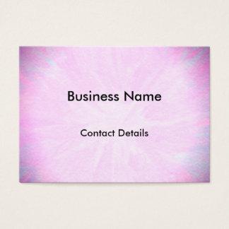 Cita rosada bonita tarjeta de negocios