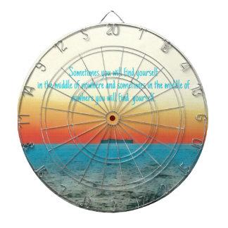 Cita vibrante bonita de la sabiduría de Oceanscape Diana