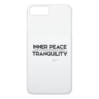 CITAS: Dalai Lama - la paz interna es la llave Funda Para iPhone 8 Plus/7 Plus