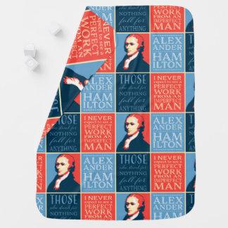 Citas de Alexander Hamilton Mantita Para Bebé
