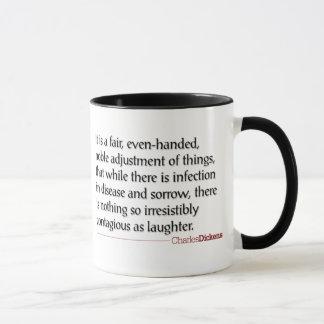 Citas de Dickens - taza de la risa