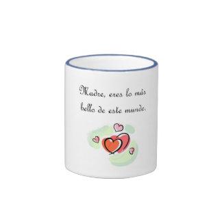 Citas del español taza de café