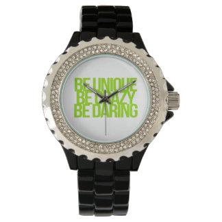 Citas inspiradas y de motivación reloj