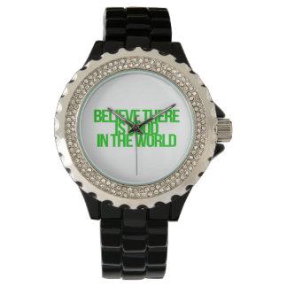 Citas inspiradas y de motivación relojes de mano