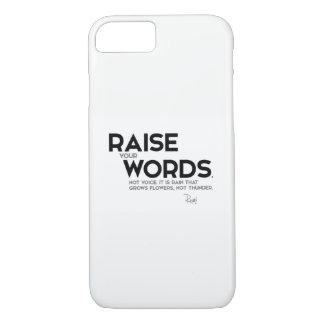 CITAS: Rumi: Aumente sus palabras Funda Para iPhone 8/7