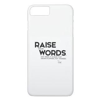 CITAS: Rumi: Aumente sus palabras Funda Para iPhone 8 Plus/7 Plus