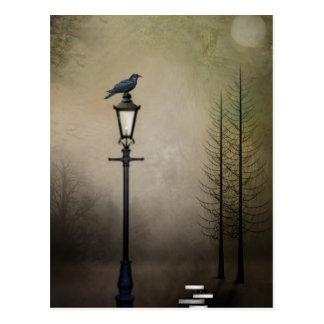 Cite la postal del cuervo