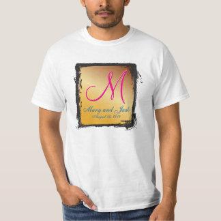 Citrine del monograma 3d camisas