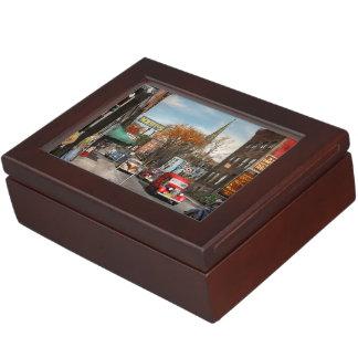Ciudad - Amsterdam NY - Amsterdam céntrica 1941 Caja De Recuerdos