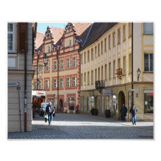 Ciudad de Ansbach Alemania Impresión Fotográfica