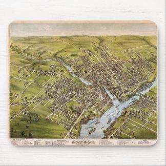 Ciudad de Bangor el condado de Penobscot Maine Alfombrilla De Ratón