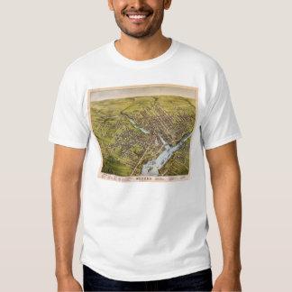 Ciudad de Bangor el condado de Penobscot Maine Camisetas
